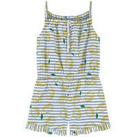 Sonia Rykiel bambini - bambina - tutina corta con bretelle - 2 anni - blu