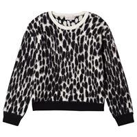 Moncler - leopard camo maglione nera 14 anni