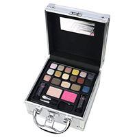 The Color Workshop - valigetta con trucco. Travel in color, color argento