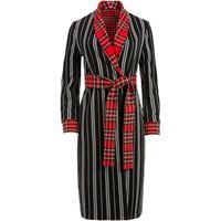 Alice+Olivia cappotto reversibile con cintura wheaton - nero