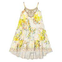 Camilla Kids abito a stampa floreale in cotone