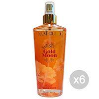 NANI set 6 NANI gold acqua corpo gold moon 250 ml deodorante