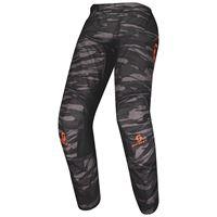 SCOTT pantaloni scott 350 dirt nero arancio