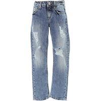 MSGM jeans bambino in outlet, denim blu, cotone, 2021, 4y 6y 8y