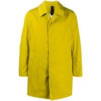 Mackintosh cappotto monopetto london - giallo