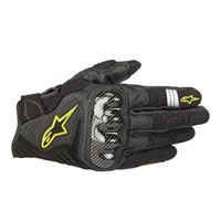 ALPINESTARS guanto corto smx-1 air v2 nero giallo - ALPINESTARS