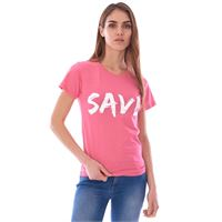 SAVE THE DUCK t-shirt SAVE THE DUCK girocollo stampata