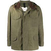 Mackintosh giacca leggera con cappuccio - verde