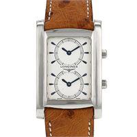 Longines orologio dualtime elegance-dolcevita longines l56