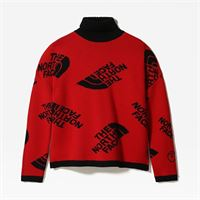 TheNorthFace the north face maglione donna black series haute red/tnf black taglia l donna