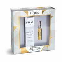 Lierac cofanetto cica filler siero 10ml + gel crema mat anti rughe 40ml