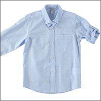DODIPETTO camicia bambino microfantasia 5u300 DODIPETTO