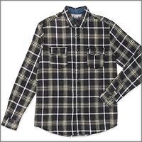 LOSAN camicia manica lunga quadrotti 3017 uomo LOSAN