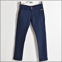 IDO pantalone lungo elegante tinta unita 4w411 ragazzo IDO