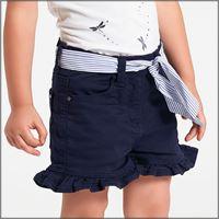 IDO pantalone corto con cinturina 4w781 bambina IDO