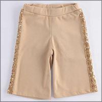 Ido pantalone ampio con bande di paillettes 4k646 bambina ido