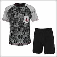 A.C. MILAN pigiama da bambino corto 15091 prodotto ufficiale A.C. MILAN