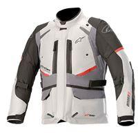 ALPINESTARS andes v3 drystar jacket giacca - (ice grey/dark grey)