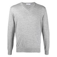 Cruciani maglione con scollo a v - grigio