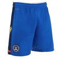 Udinese Calcio 1896 macron udi m20 ufficiale sr, short gara away udinese calcio 2020/21 uomo, blu, xl