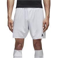 adidas parma 16 sho, pantaloncini uomo, bianco (white/black), x-small