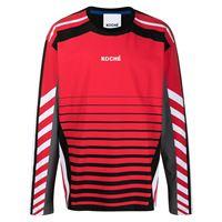 Koché maglione a righe - rosso