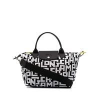 Longchamp borsa con manico piccola le pliage - nero
