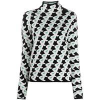 Christian Wijnants maglione con stampa - nero