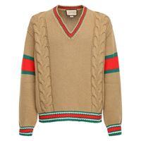 GUCCI maglia in lana a trecce