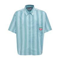 MARTINE ROSE camicia in cotone con logo