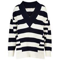 Alexander McQueen pullover a righe in lana e cashmere