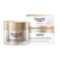 BEIERSDORF SpA eucerin hyaluron-filler + elasticity crema notte 50ml