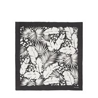 SAINT LAURENT bandana in cotone stampato