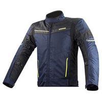 Ls2 giacca shadow xxxl blue / black / high visibility yellow