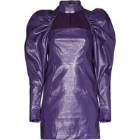 ROTATE vestito corto kaya con dettaglio cutout - viola