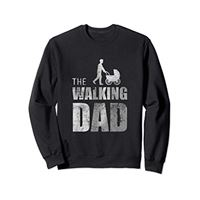 Best Dad the walking dad felpa