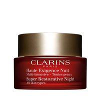Clarins multi-intensive haute exigence nuit per tutti i tipi di pelle 50 ml