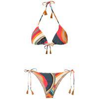 Lygia & Nanny set bikini maya con stampa - multicolore