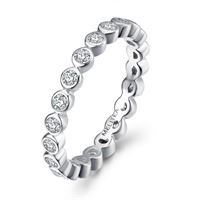 Melitea anello donna gioielli Melitea punti luce ma137.15