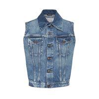 MAISON MARGIELA giacca smanicata in denim di cotone