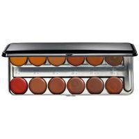 BEAUTY IS LIFE palette da trucco professionale (colore toni scuri) - 40 gr.