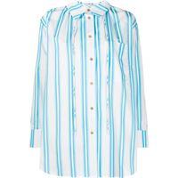 Rejina Pyo camicia a righe - blu