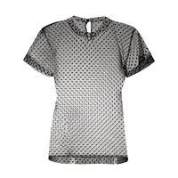 Maison Margiela t-shirt a pois - nero