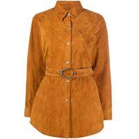 Giuseppe Zanotti giacca-camicia - marrone