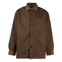A-COLD-WALL* giacca-camicia coach - verde