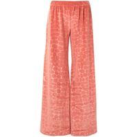 Alexis pantaloni reman con stampa - rosa
