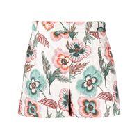 Salvatore Ferragamo shorts a fiori - bianco