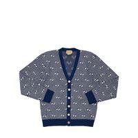 GUCCI cardigan in maglia di lana gg