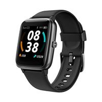 KUNGIX smartwatch orologio bluetooth fitness tracker gps con uomo donna cardiofrequenzimetro da polso contapassi touchscreen activity tracker impermeabile ip68 cronometro per android ios