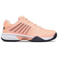 K-swiss scarpe hyper court express 2 hb eu 38 peach / greystone / white